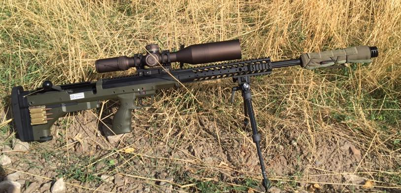Tony Peterson With Evolution Bipod