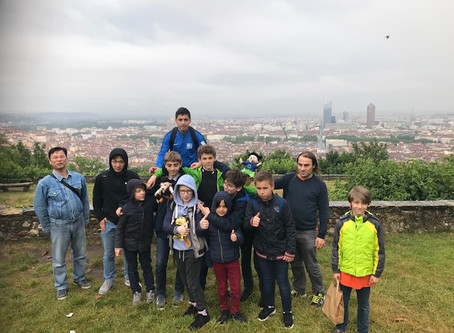 Top jeunes : phase finale à Lyon