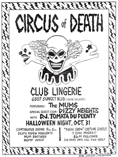 Circus of Death flyer