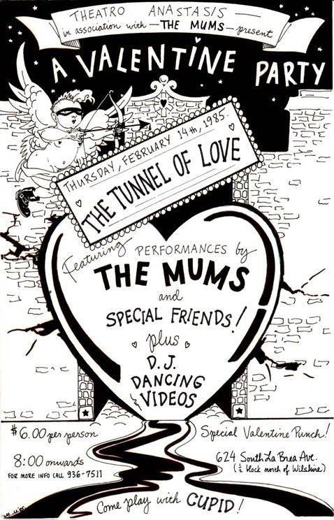 The Mums Valentine Party At The Mums  Studio on Labrea