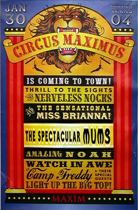Maxim Magazine  Party