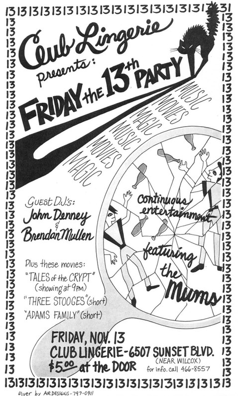 Friday the 13th flyer