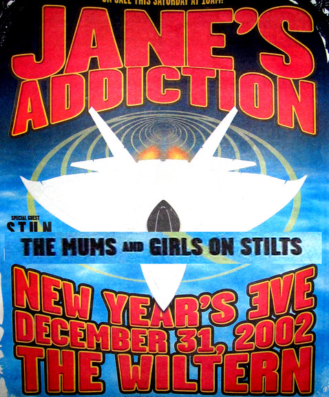 Poster art for  Janes Addiction