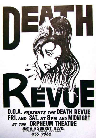 Death Revue a macabre comedy