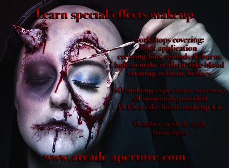 Learn Halloween Special Effects Makeup