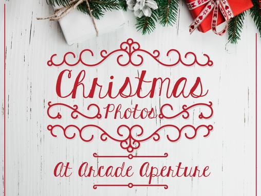 Santa photos at Arcade Aperture