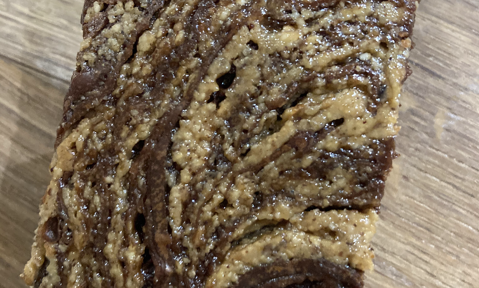 Pecan Almond Hazel Honey Butter Brownie