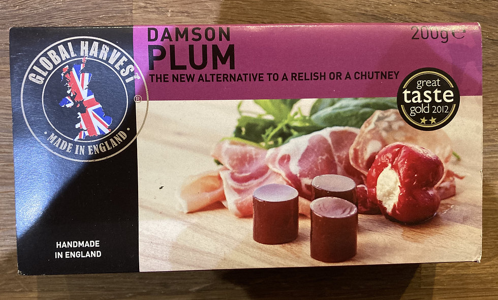 Damson Plum Cheese 200g