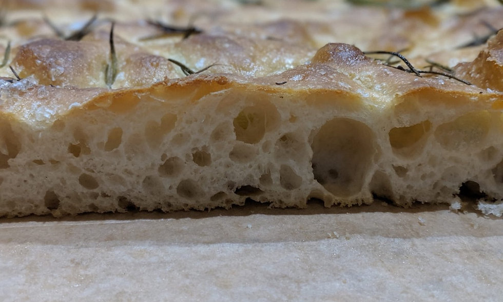 Focaccia Sea Salt Rosemary