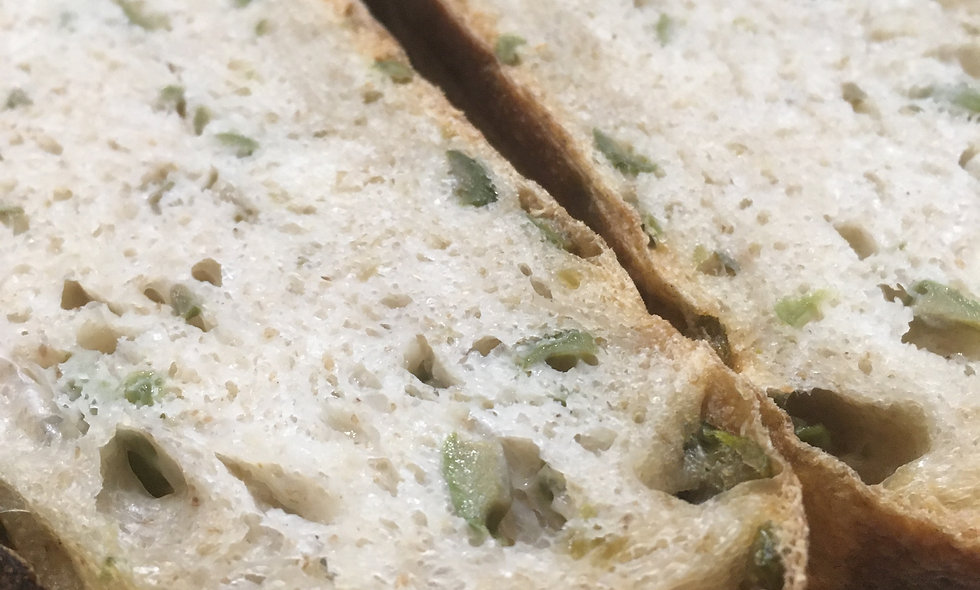 Olive Herb Parmesan Sourdough