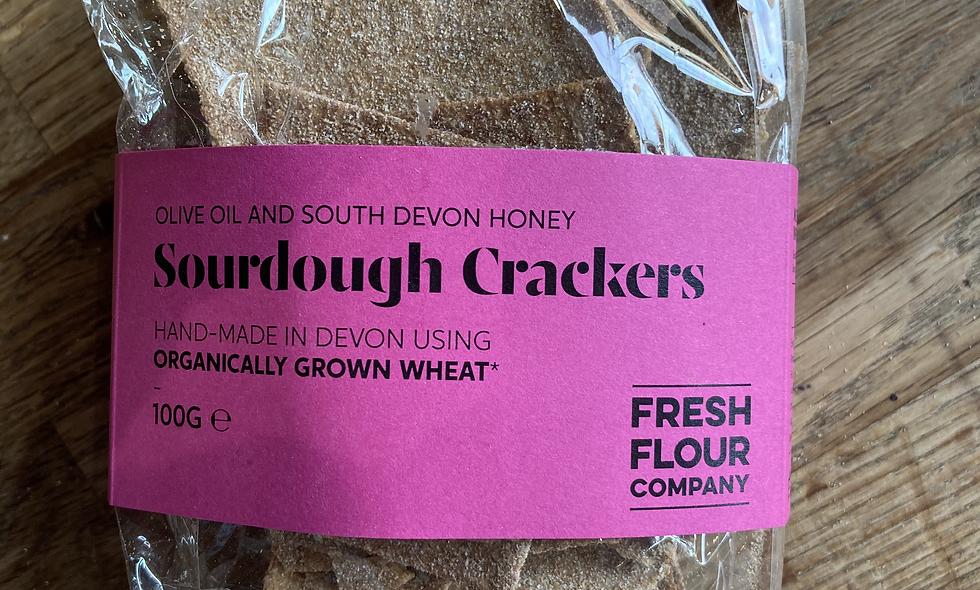 Sourdough Crackers Devon Wheat 100g