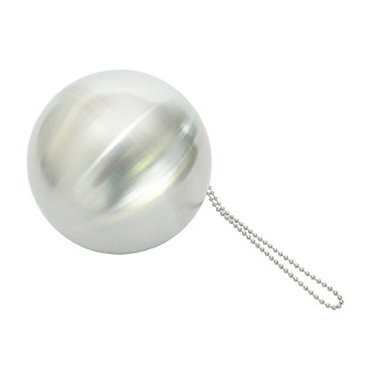 Ball Chain Loop with Spherical Mass
