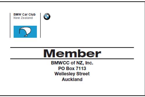 Lost Membership Card