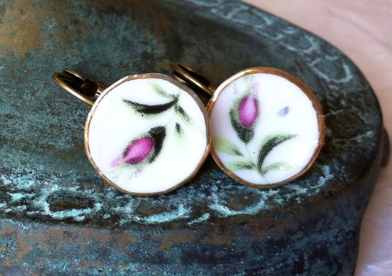 Boucles d'oreilles Rosebud