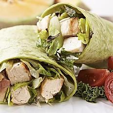 S0002 - Grilled Chicken Caesar Salad Wrap