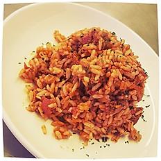 M0004 - Jambalaya (Chicken and Shrimp) w/Collard Greens