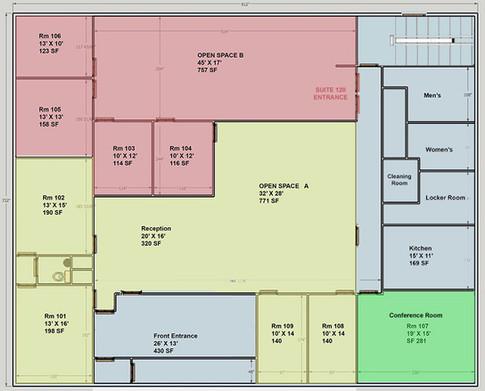 1st Floor-Floor Plan