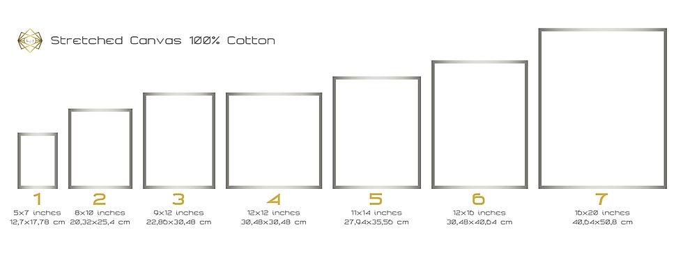 Stretched Canvas 100% Cotton