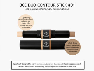 3CE Duo-Contour-Stick #01