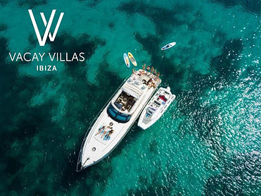 Ibiza boat rentals, yacht rentals, villa rentals Ibiza, Vacay Villas Ibiza, holiday houses for rent in Ibiza