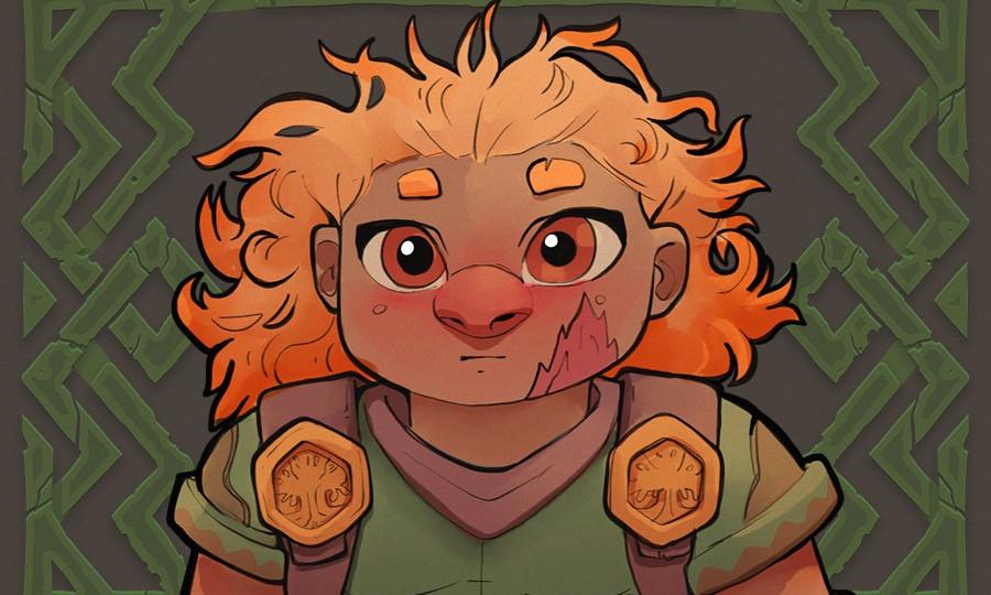 A'kelia the Dwarwen Girl