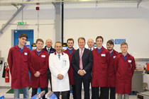 Michael Portillo opens Silvers Machines Apprentice Training Centre supported by PDT