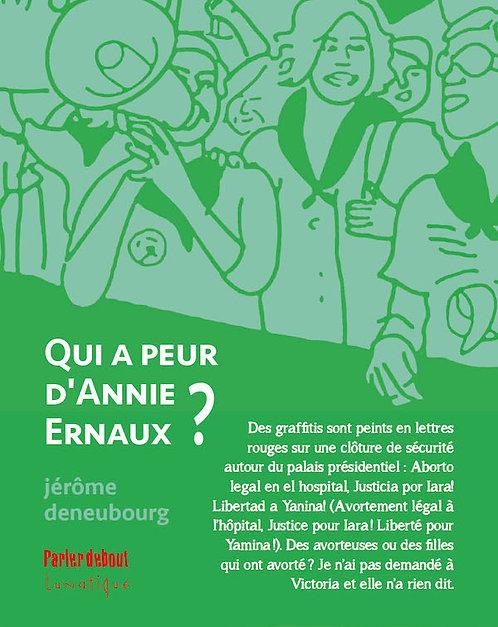 Qui a peur d'Annie Ernaux ?