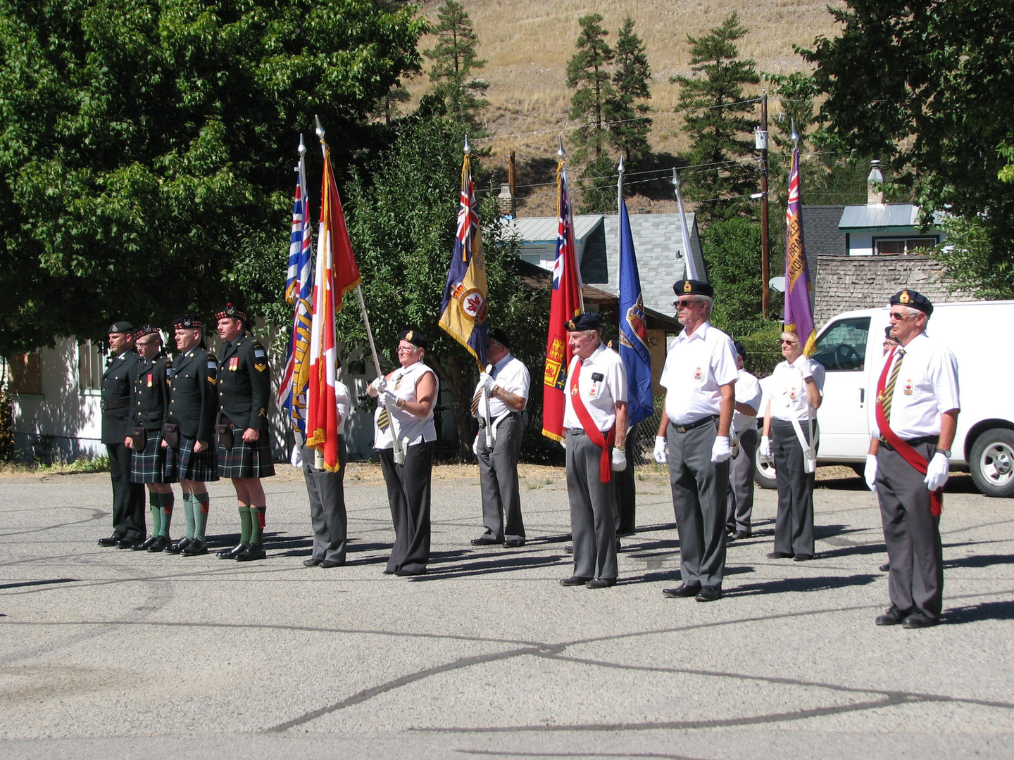 CENOTAPH REDEDICATION  HEDLEY BC