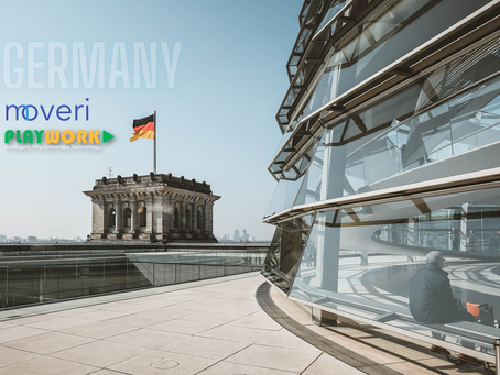PLAYWORK & Moveri GmbH announcing new partnership for distribution in Germany-Austria-Switzerland
