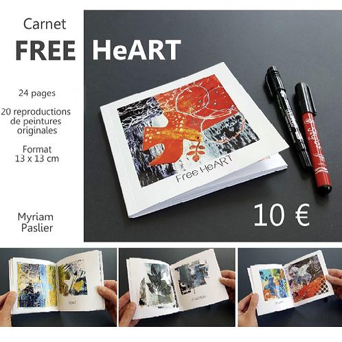 """Carnet """"FREE HeART"""""""