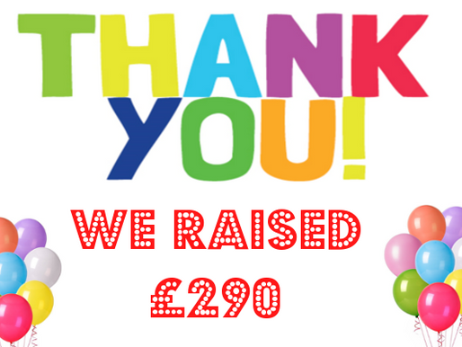 An amazing £290 raised in our quiz!