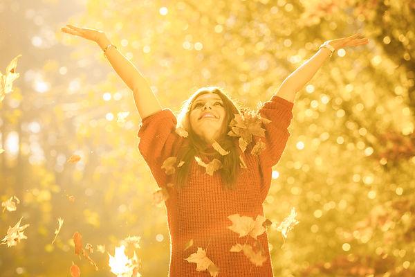 Girl Tossing Up Leaves..jpg