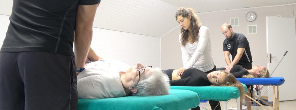 Osteopathie Übungen