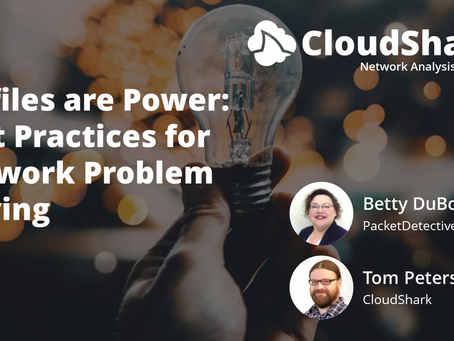 Profiles Are Power - Best Practices for Network Problem Solving