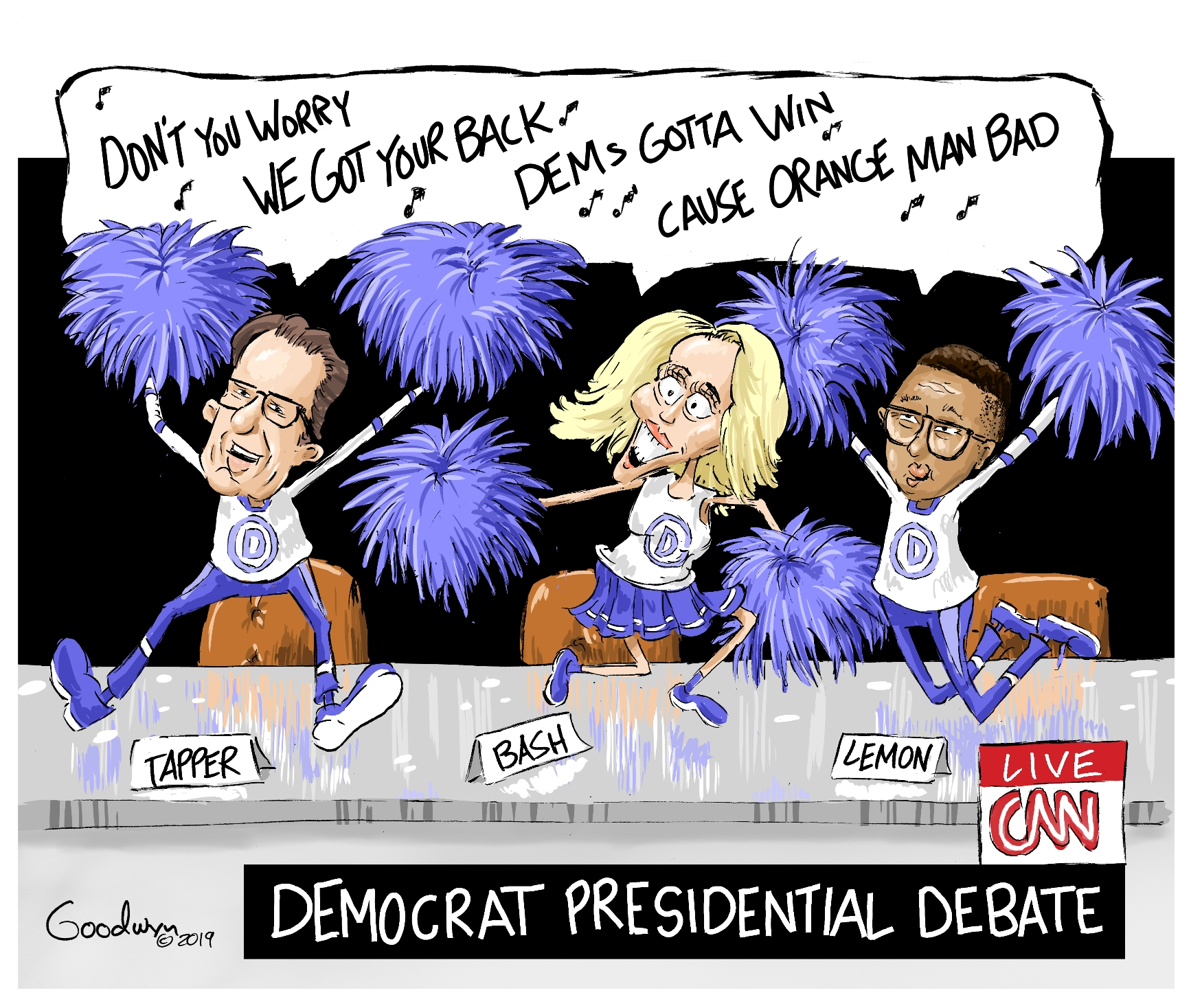 goodwyn DNC Cheerleaders lr 8-1-19