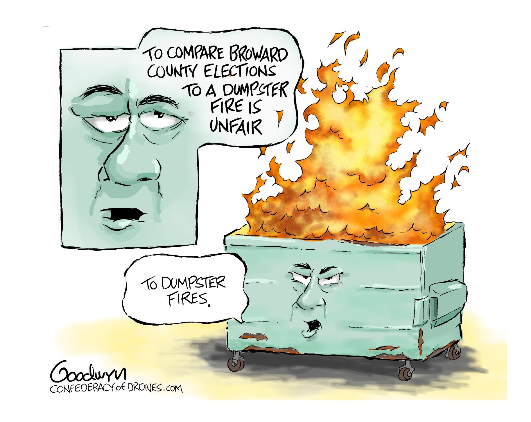 Dumpster Fire lr 11-15-18 (1)