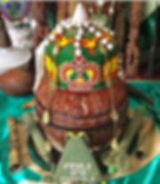 Ifa ajere, traditional Ifa pot, iroke, opele