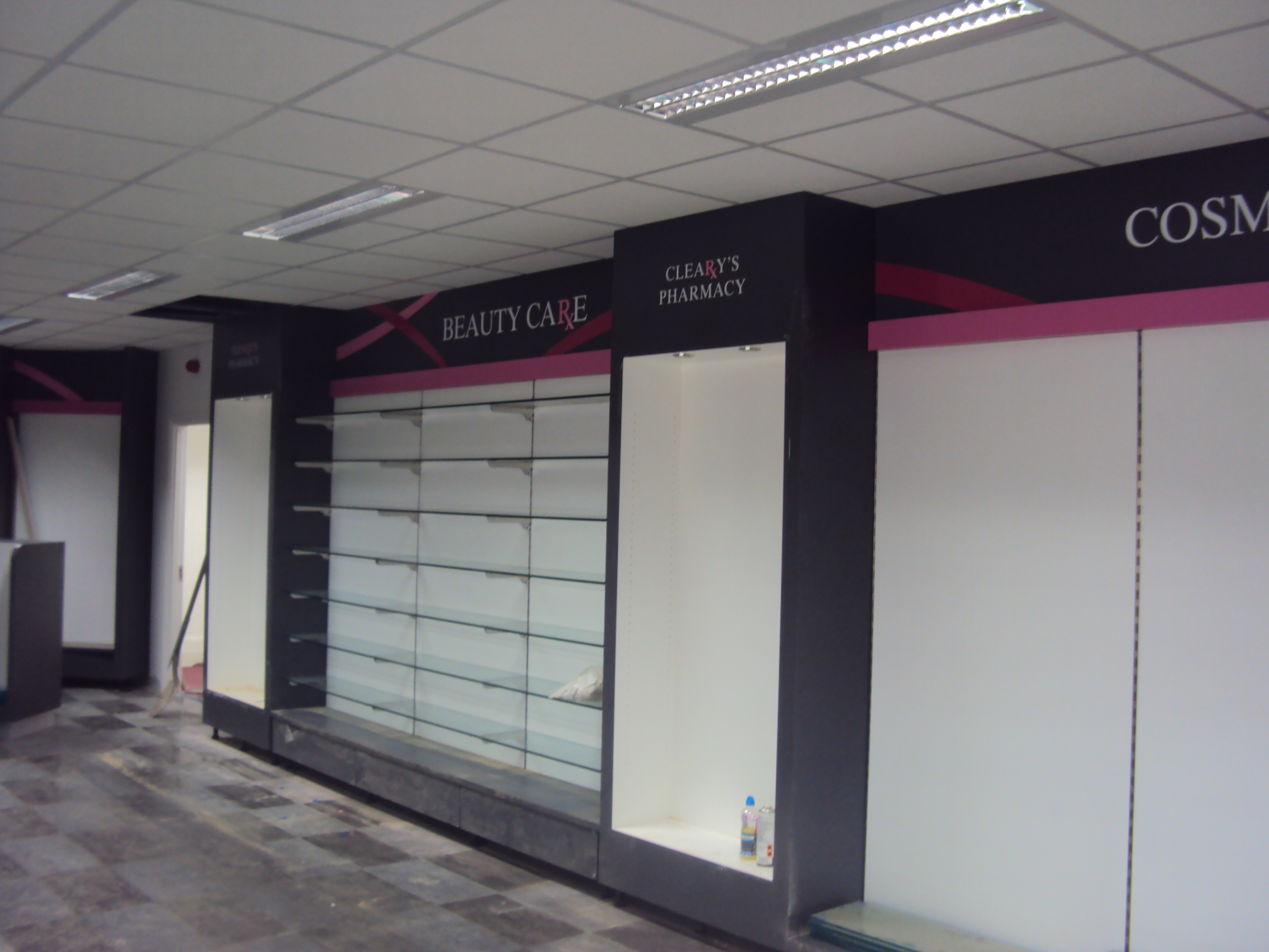 Category Signage Vinyl Graphics