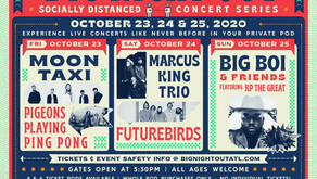 LIVE MUSIC IS BACK IN ATLANTA WITH BIG NIGHT OUT, IN CENTENNIAL OLYMPIC PARK OCTOBER 23 - 25, 2020