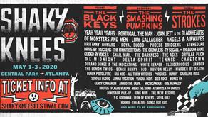 Shaky Knees reveals a Rockin' Lineup