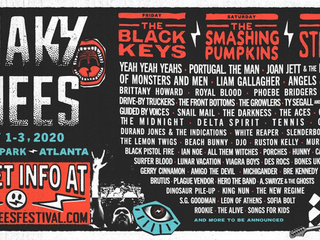 Shaky Knees reveals a Rockin' Lineup