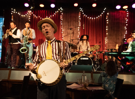 Captain Crimmins & The Story Boat Band: SOLD OUT Album Release show at Venkman's