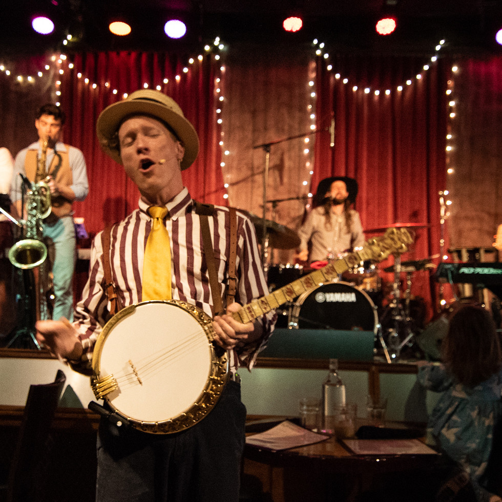 Captain Crimmins & The Story Boat Band