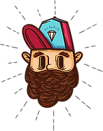 Hipster with Diamond Cap