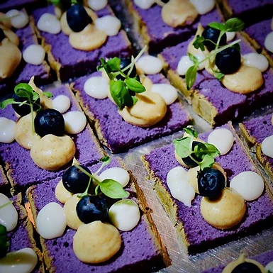 UBE BLUEBERRY CHEESECAKE 2.0