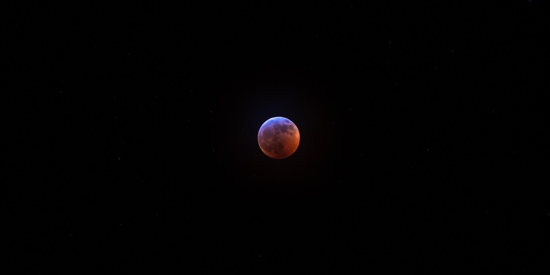 Superwolf Blood Moon