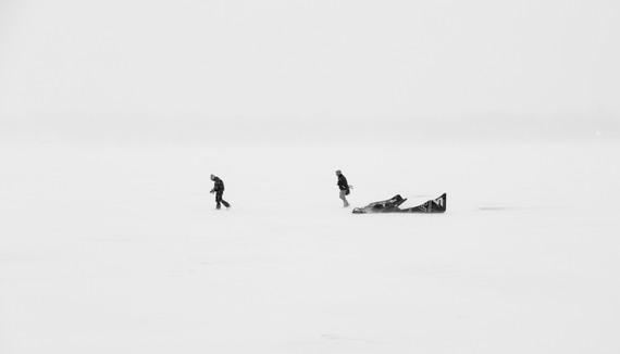 Crossing a Lake 2