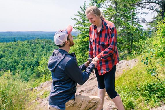 Dana and Steve Surprise Engagement 2017
