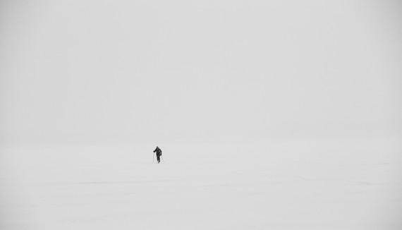 Crossing a Lake 1