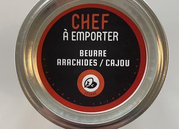 Beurre Arachides et Cajou